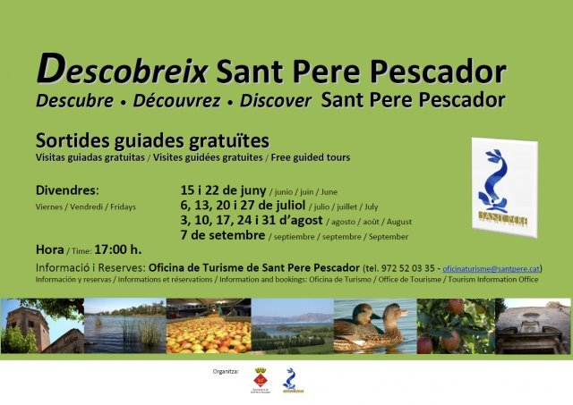 Free guided tours: Discover SANT PERE PESCADOR